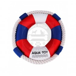 Ring shaped water toy with...