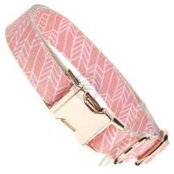 April & June Pink arrow collar