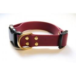 Bubark Wine Red collar