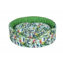 Cazo Foam Cotton Bed - Toucan