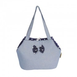 Fabotex blue pet carrier