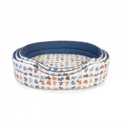 Camon pet bed - dog pattern