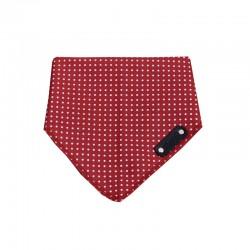 Momo red and white bandana XL