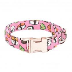 April & June Pink Sushi Collar