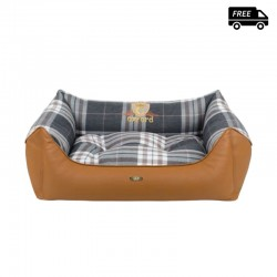 Cazo square soft bed - Oxford
