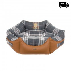 Cazo octagonal soft bed -...