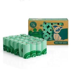 BIO Poop bags 24 rolls/pack