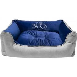 Cazo paris navy blue soft bed