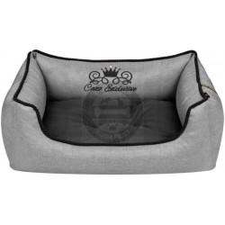 Cazo royal line grey soft bed